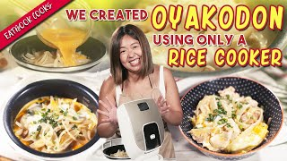 We Made Rice Cooker Japanese Donburi | Eatbook Cooks | EP 22