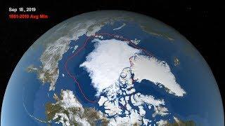 Arctic Sea Ice Reaches 2019 Minimum Extent