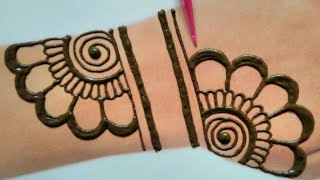 Beautiful Back Hand Mehndi Design|simple Mehndi Design|easy Mehndi|mehendi|MehndiDesigns
