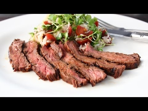Marsala Marinated Skirt Steak – Easy Grilled Skirt Steak Recipe