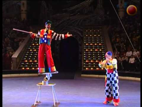 Clowns with Rola-bola