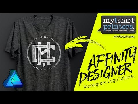 Affinity Designer Tutorial - Affinity Designer Logo Tutorial - YouTube