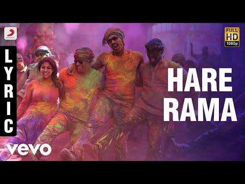 Arrambam - Hare Rama Lyric | Ajith, Nayantara
