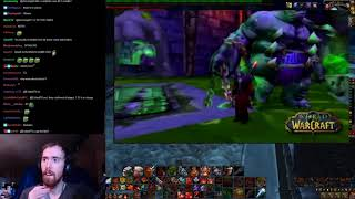 Asmongold Reacts To Drums Of War Patch 1.12.0 And Naxxramas Trailers