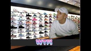 מוכר נעליים ערסי פשוט מאבד את זה! *18+*