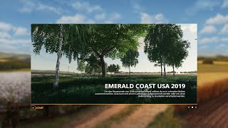 FS19 Emerald Coast USA 2019 Map Fly Thru