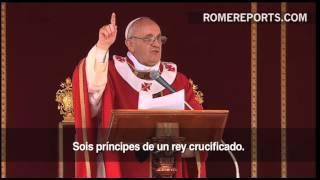 """O Papa durante o Domingo de Ramos: """"Não deixeis que vos roubem a esperança"""""""