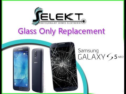 Samsung S5 NEO (G903F) Glass Touch Only Replacement / Wymiana szybki | Selekt