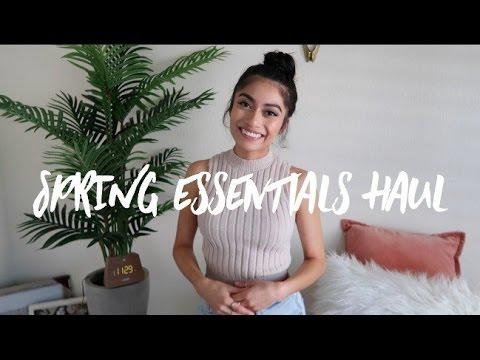 Spring Essentials Haul | 2017
