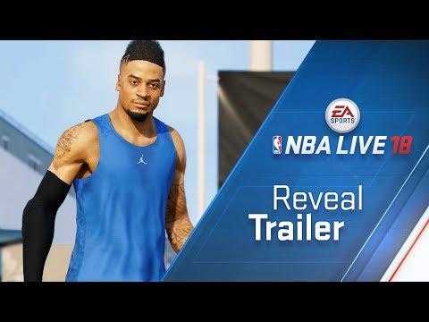 NBA LIVE 18 Reveal Trailer - The One thumbnail