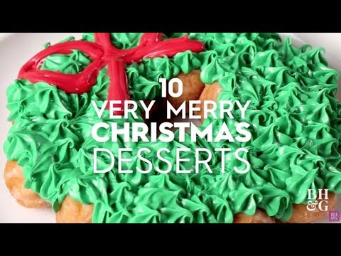 10 Very Merry Christmas Desserts | Better Homes & Gardens