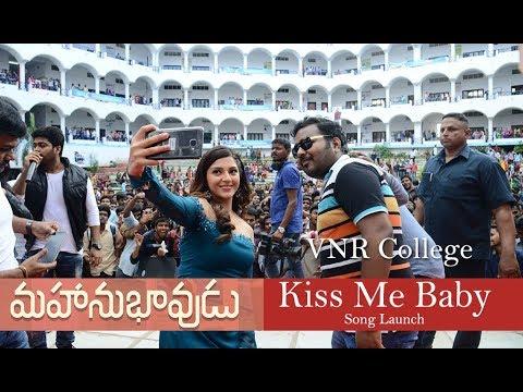 Mahanubhavudu 2nd Song Launch At VNR