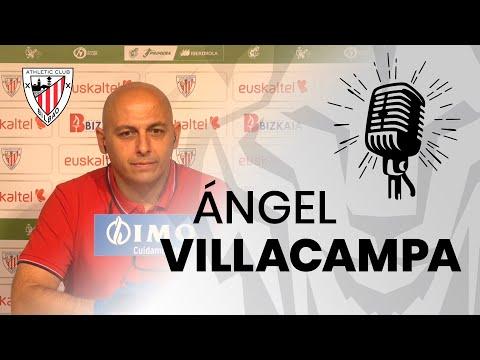 🎙️ Angel Villacampa | Prentsaurrekoa