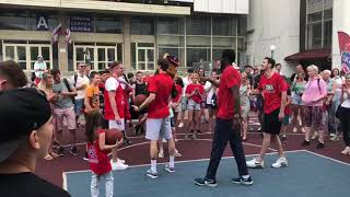 Встреча с болельщиками ЦСКА
