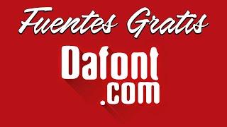 Dafont.com 💪Descargar Fuentes O Tipos De LETRAS GRATIS!