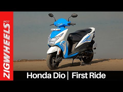 Honda Dio I Road Test Review I ZigWheels.com