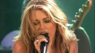 Miley Cyrus - Every Rose Has It's Thorn (Live)