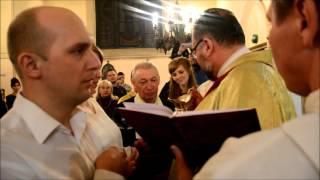 Крещение у католиков.