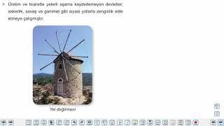 Eğitim Vadisi 9.Sınıf Tarih 9.Föy Orta Çağ'da Dünya (Tarımdan Ticarete Ekonomi ve Toplumsal Yapı) Konu Anlatım Videoları