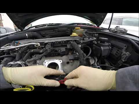 Part 1 2005 Saab 93 2 0T p0201-p0204 and p0245 fuel injector