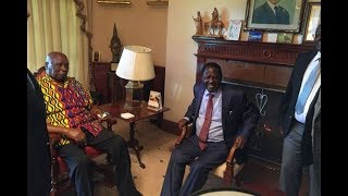 Raila visit to Moi powers 2022 election talk - VIDEO