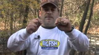 How to rig a carolina rig for bass fishing?