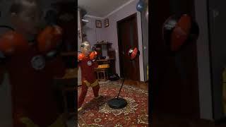 Домашняя тренировка  бокс нокаутирующий удар