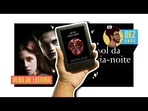 SOL DA MEIA NOITE | VLOG de Leitura | BOOKCRUSHES