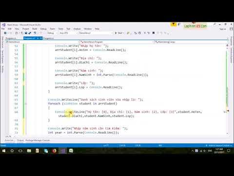 VD40 - Kiểu dữ liệu Struct - Part 2
