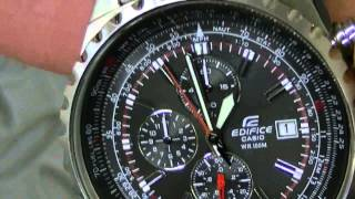 Casio Edifice Chronograph Watch Review - Stainless Steel Band - How it's held up