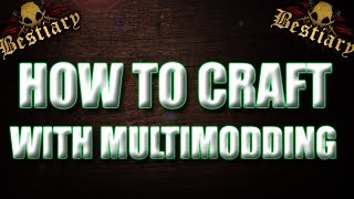 How to craft with multimodding!