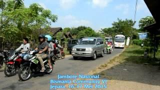 Konvoi 42 Bus Jamnas Bismania Community 2015 Jepara
