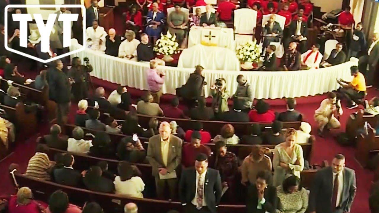 Black Churchgoers Turn Their Backs On Mike Bloomberg thumbnail