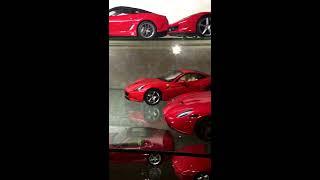 Ferrari 1:18 diecast model car collection