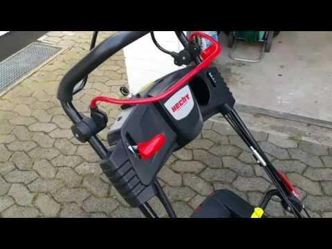 Hecht 5534 SWE Rasenmäher mit Radantrieb + E-Start nach Winter
