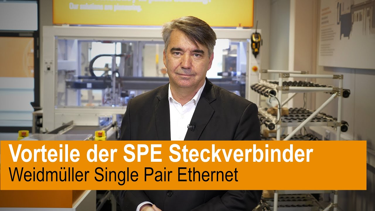 Vorteile der Single Pair Ethernet Steckverbinder