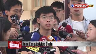 Joshua Wong says protesters won't stop until all five demands met