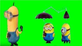 Green Screen Effect Minions | Dance |  Farts | Chroma key HD