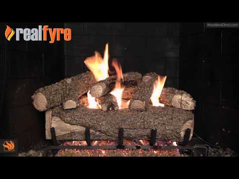 Real Fyre Forest Oak Vented Gas Log Set