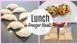 FILL YOUR FREEZER CHALLENGE~  LUNCH