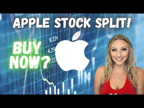 Apple Stock Split! 4:1 (AAPL) Earnings Report, Should You Buy Before The Split?