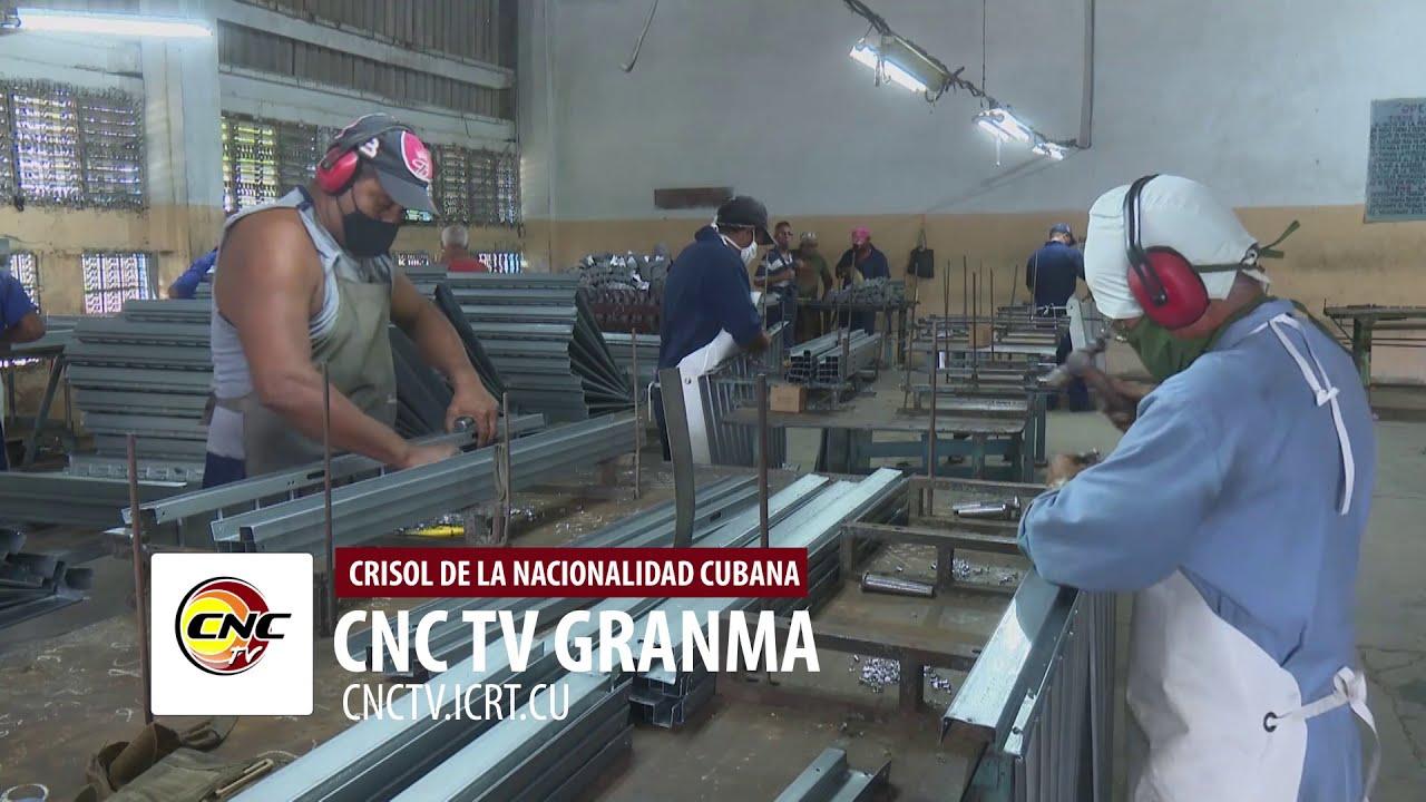 Mantiene estabilidad en las producciones empresa de piezas de aluminio de Granma