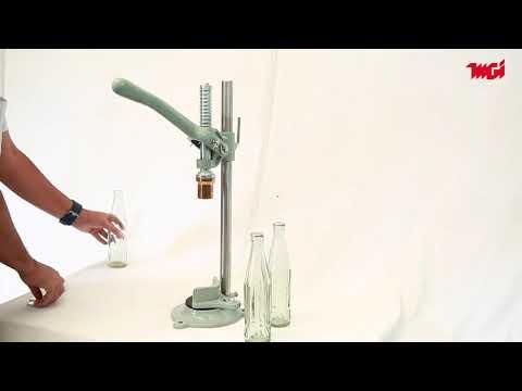 Hand Model Crown Corking Machine