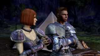 Dragon Age Banter Cutscene 1 - Alistair's distrust of Zevran