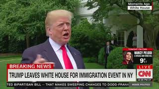 Trump lies about what James Clapper said about spying