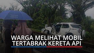 KRONOLOGI Terios Tertabrak Kereta Api di Padang, Mobil Keluar dari Komplek Polri Bungo Tanjung