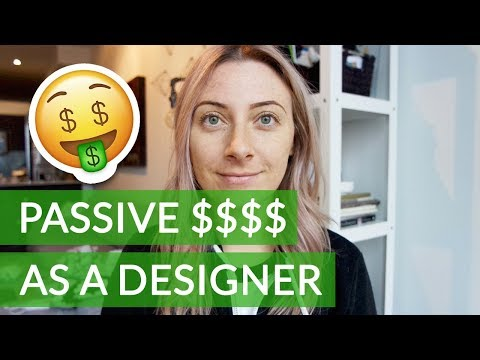 How to Make Money Online as a Designer – Passive Income