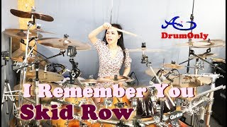 [New}Skid Row - I Remember You drum-only(cover by Ami Kim)(#65-2)