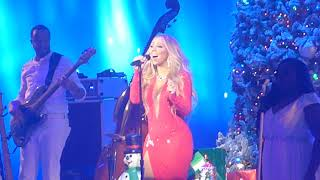 "Mariah Carey ""O Holy Night"" Live 12/5/17 Beacon Theatre"