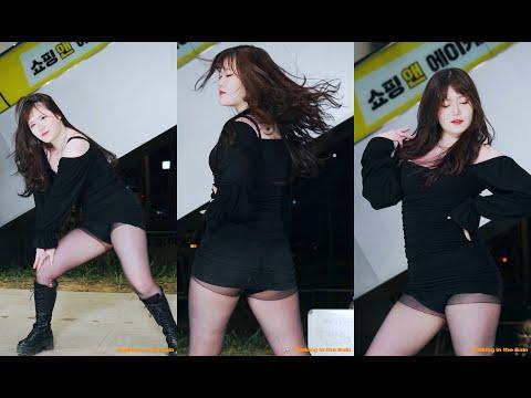 200209 여성댄스팀 얼웨이즈(Always)(푸름) - 유레카_지코 (홍대애경버스킹)(직캠)